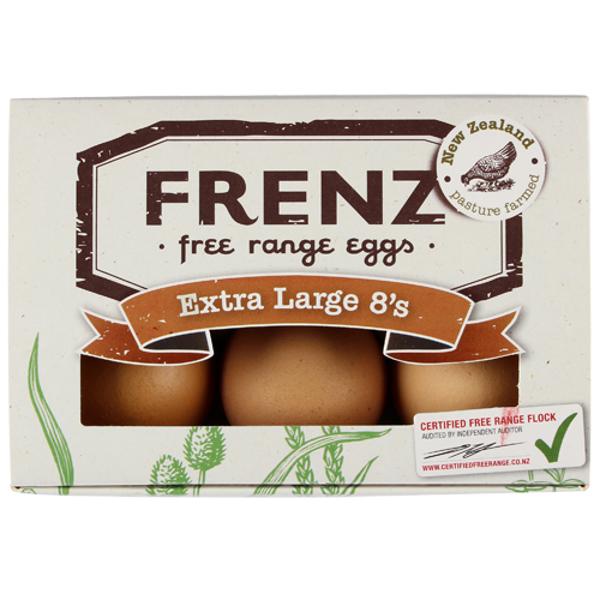 Frenz Free Range Extra Large Grade A 6PK