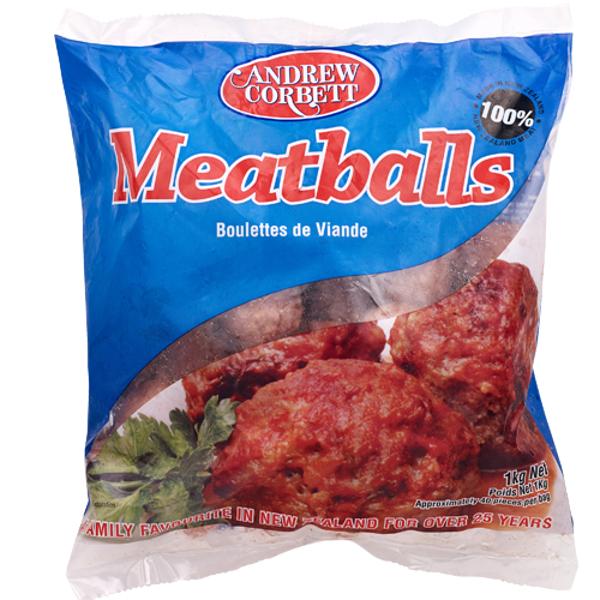 Top Notch Meatballs 1kg