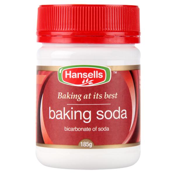 Hansells Baking Soda 185g