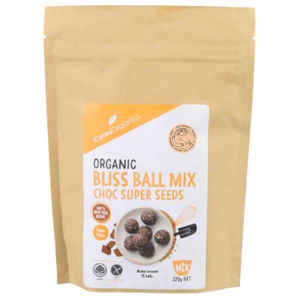 Ceres Organics Organic Choc Super Seeds Bliss Ball Mix 220g