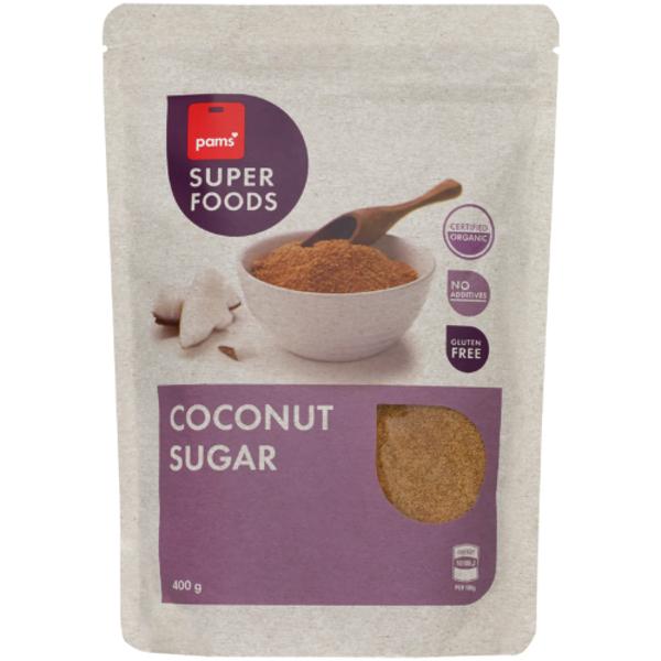 Pams Superfoods Organic Coconut Sugar 400g