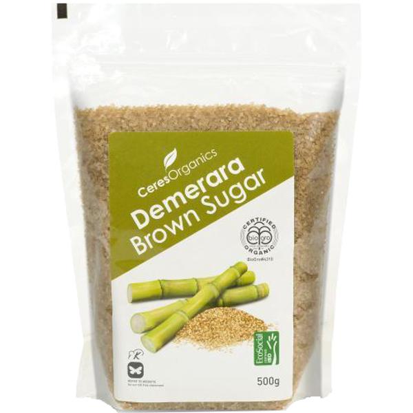 Ceres Organics Demerara Brown Sugar 500g