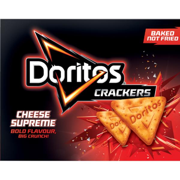 Doritos Cheese Supreme Crackers 160g