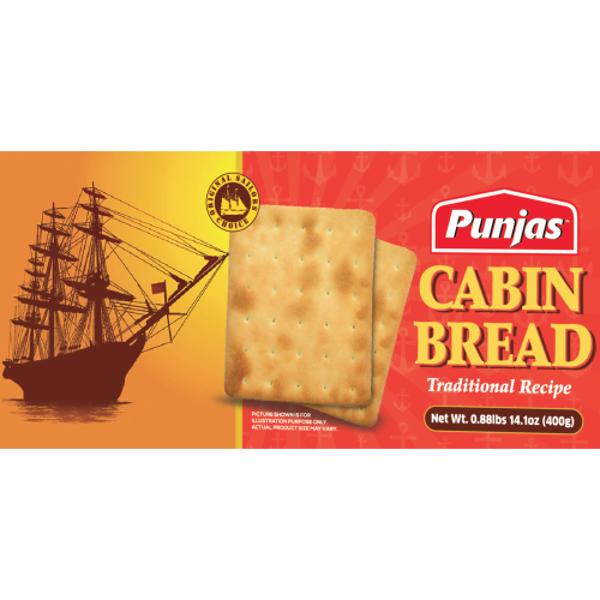Punjas Cabin Bread 400g