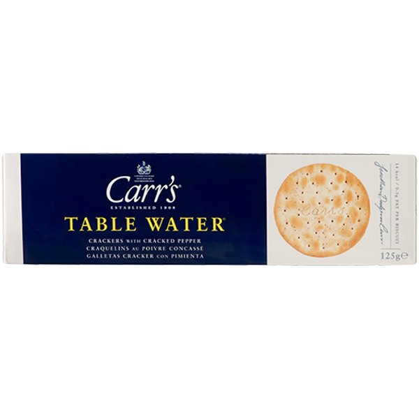 Carr's Cracked Pepper Water Crackers 125g