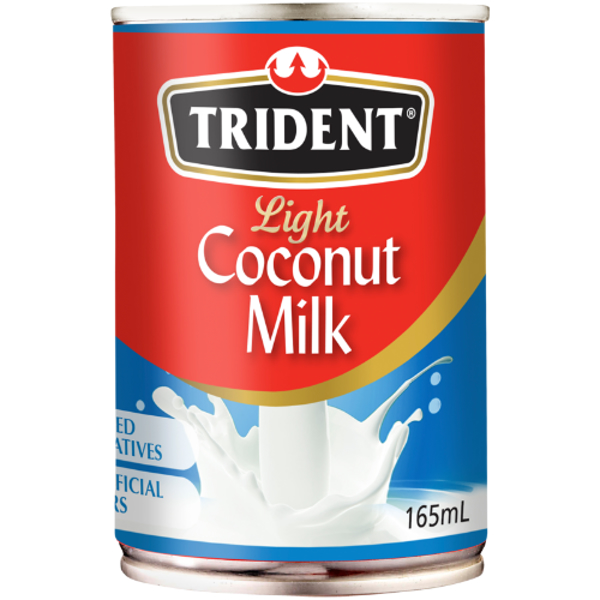 Trident Light Coconut Milk 165ml