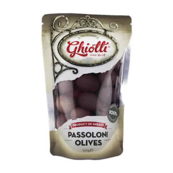 Ghiotti Passoloni Olives 300g