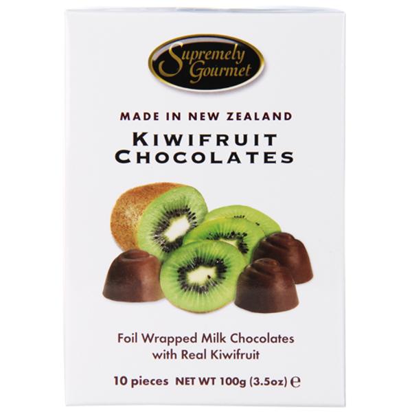 Supremely Gourmet Kiwifruit Chocolates 100g
