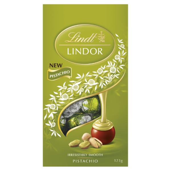 Lindt Lindor Pistachio Chocolates 123g