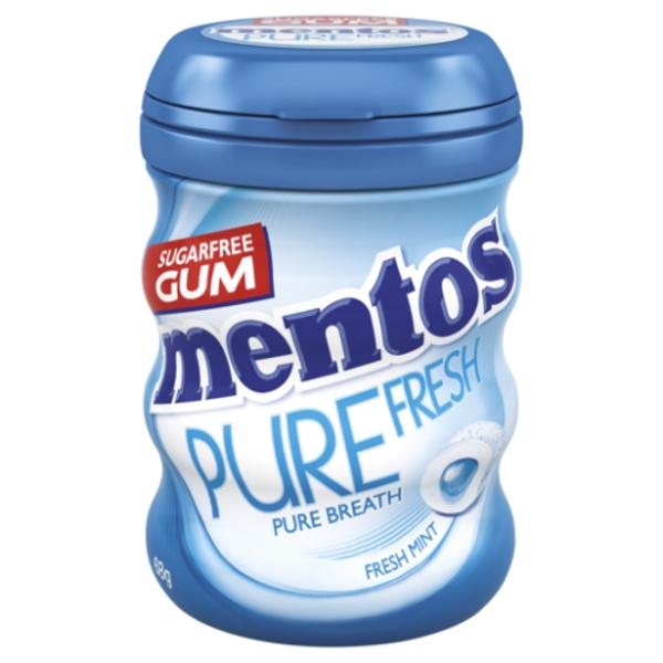 Mentos Pure Fresh Freshmint Sugarfree Gum 68g