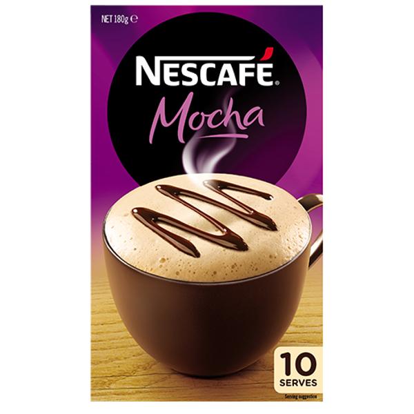 Nescafe Cafe Menu Mocha 10pk