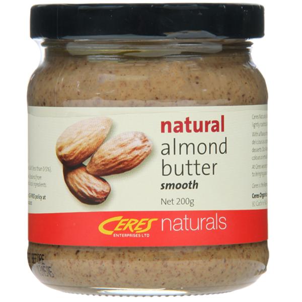 Ceres Naturals Almond Butter 200g
