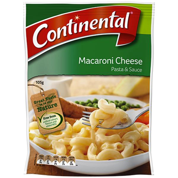 Continental Macaroni Cheese Pasta & Sauce 105g