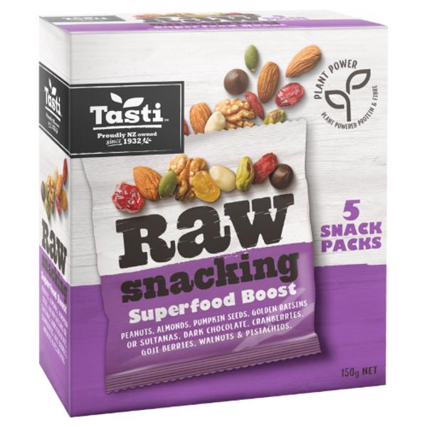 Tasti Raw Snacking Superfood Boost 150g (30g x 5pk)