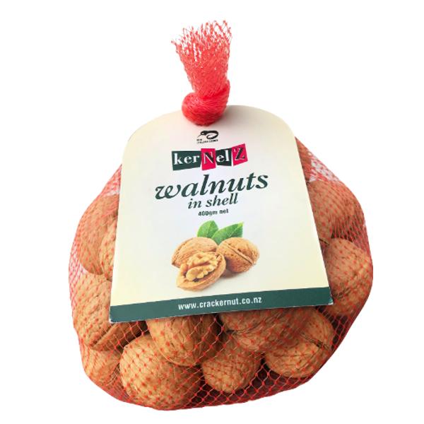 KerNelz Whole Walnuts In Shell 400g