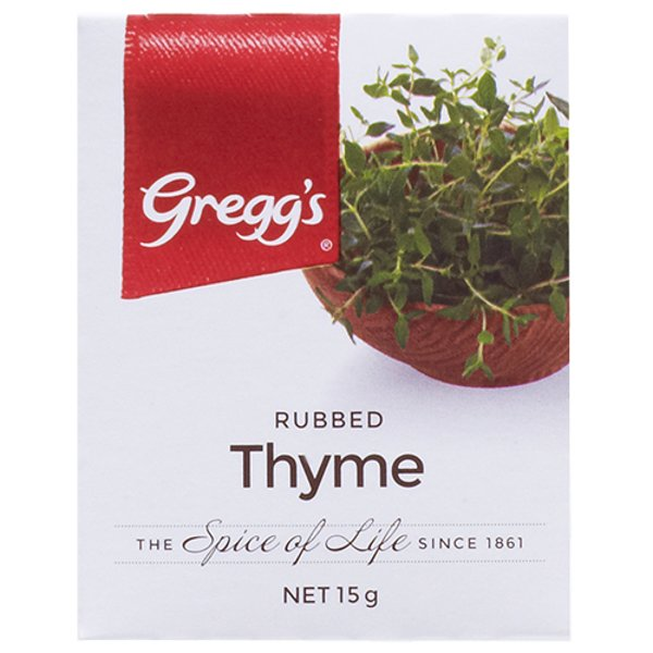 Gregg's Rubbed Thyme 15g