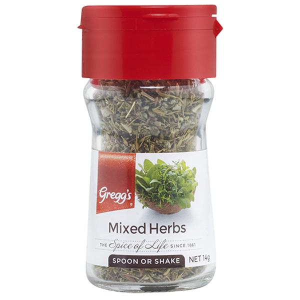 Gregg's Mixed Herbs 14g