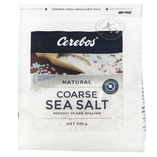 Cerebos Sea Salt Plain Coarse 500g
