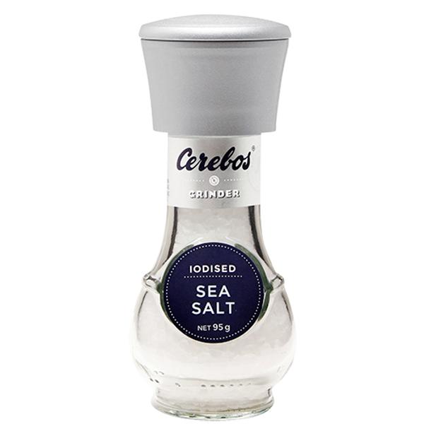 Cerebos Iodised Sea Salt 95g