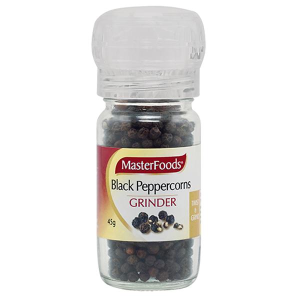 Masterfoods Black Pepper Grinder 45g