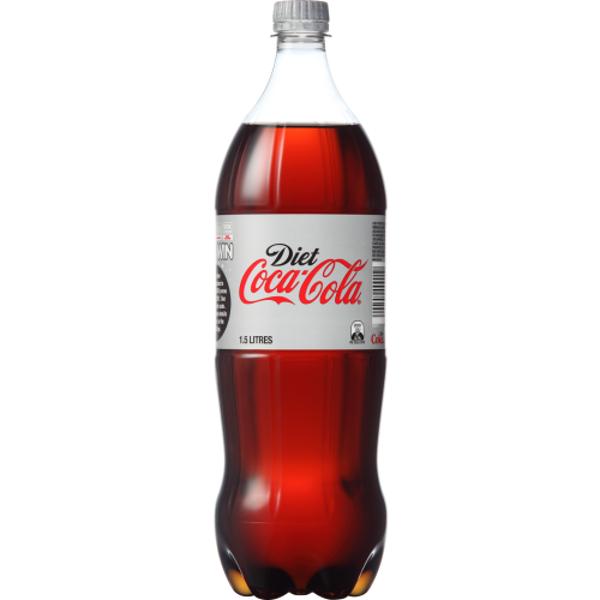 Coca Cola Diet Soft Drink Bottle 1.5l