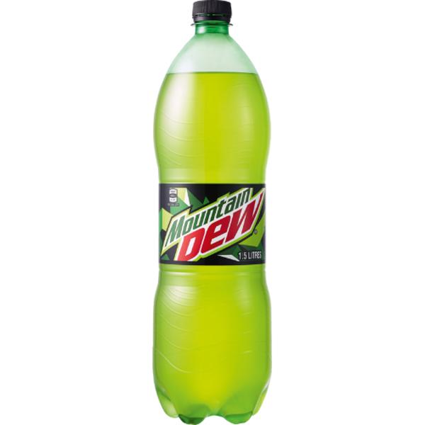 Mountain Dew Soft Drink 1.5l