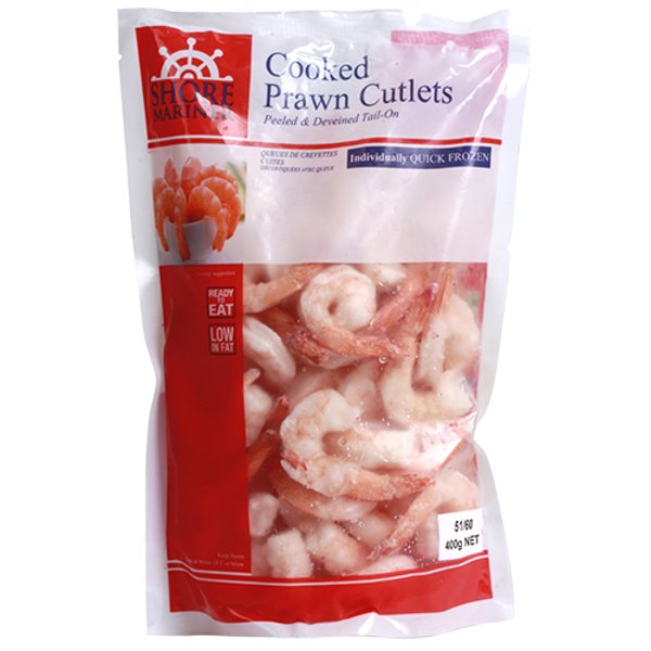 Shore Mariner Cooked Prawn Cutlets 400g