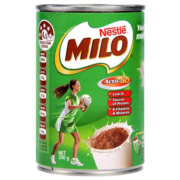 Nestle Milo Energy Food Drink 200g