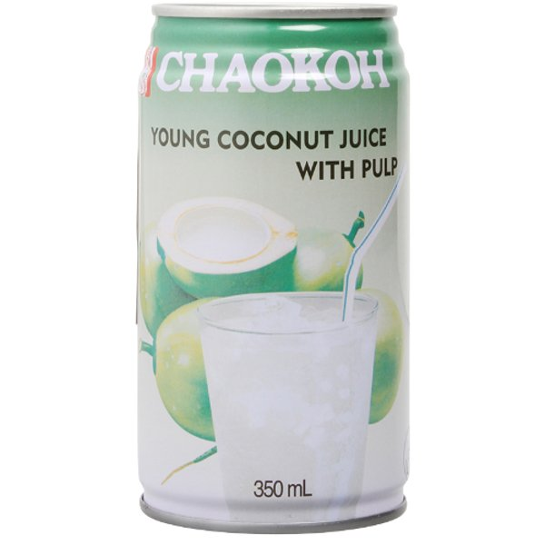 Chaokoh Young Coconut Juice With Pulp 350ml