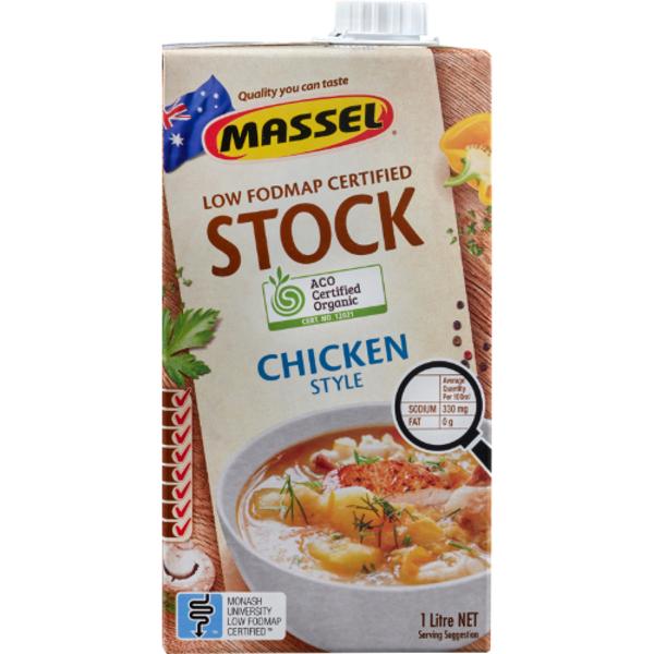 Massel Organic Liquid Chicken Stock 1l