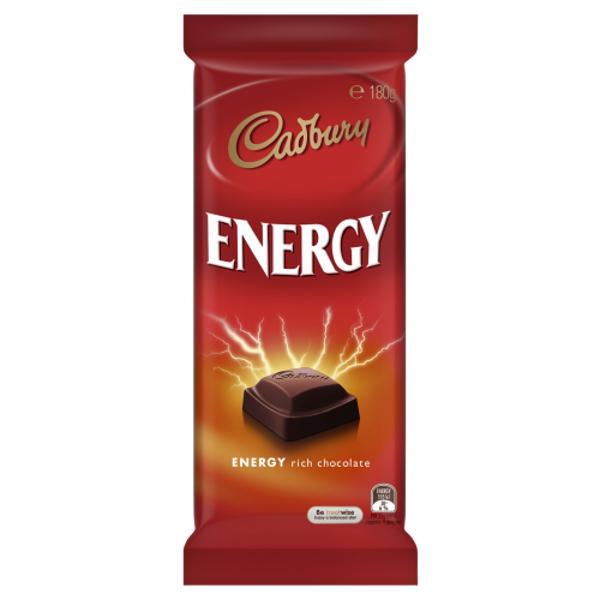 Cadbury Energy Rich Chocolate Block 180g