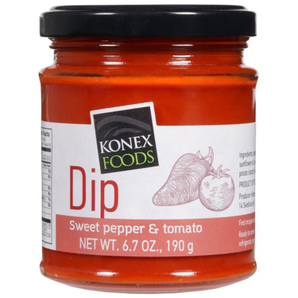 Konex Foods Sweet Pepper & Tomato Dip 190g
