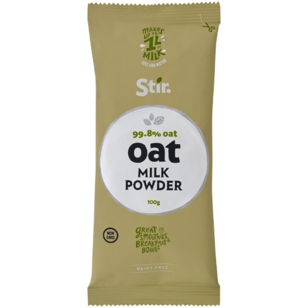 Stir. 99.8% Oat Milk Powder 100g