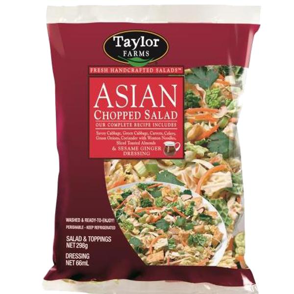 Taylor Farms Asian Chopped Salad Kit 350g