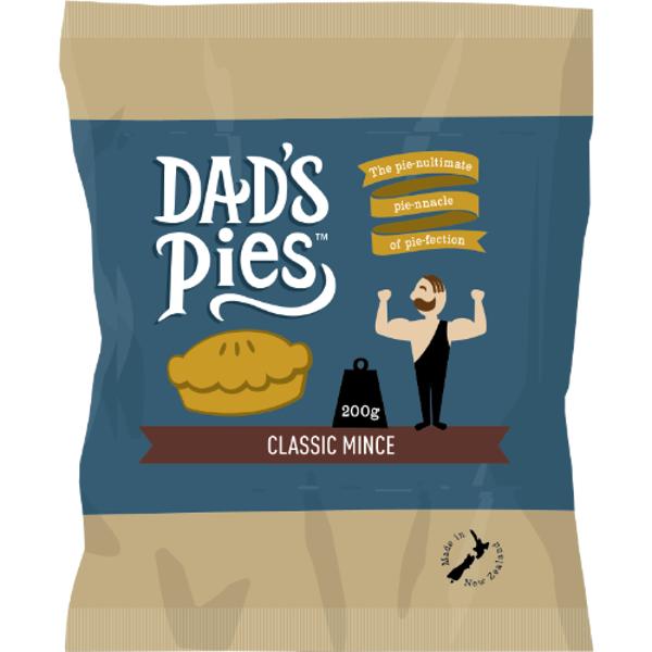 Dad's Pies Classic Mince Pie 200g