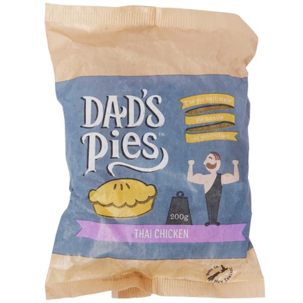 Dad's Pies Thai Chicken Pie 200g