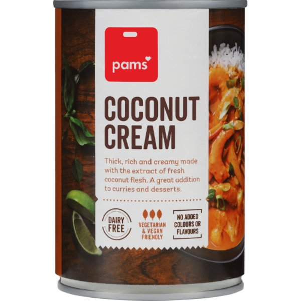 Pams Coconut Cream 400ml