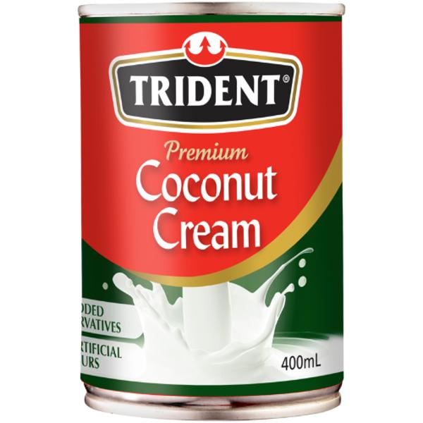 Trident Coconut Cream Premium Quality 400ml