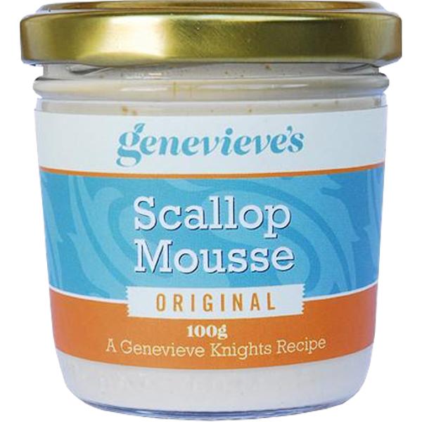 Genevieve's Original Scallop Mousse 100g