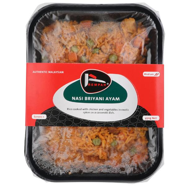 Rempah Meals Nasi Biriyani Ayam Meal 350g