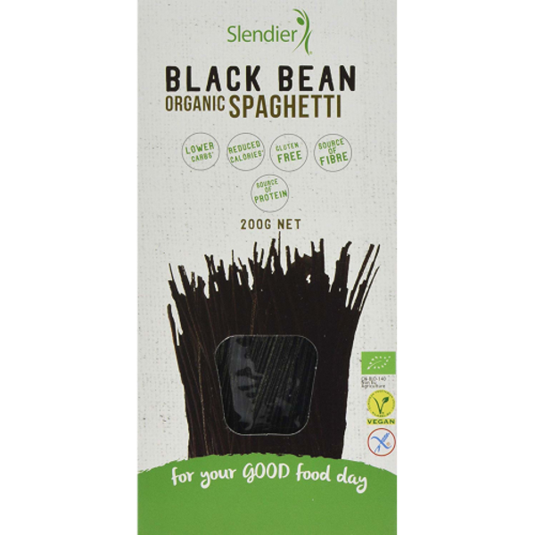 Slendier Black Bean Organic Spaghetti 200g