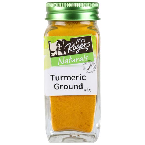 Mrs Rogers Ground Turmeric Shaker 45g