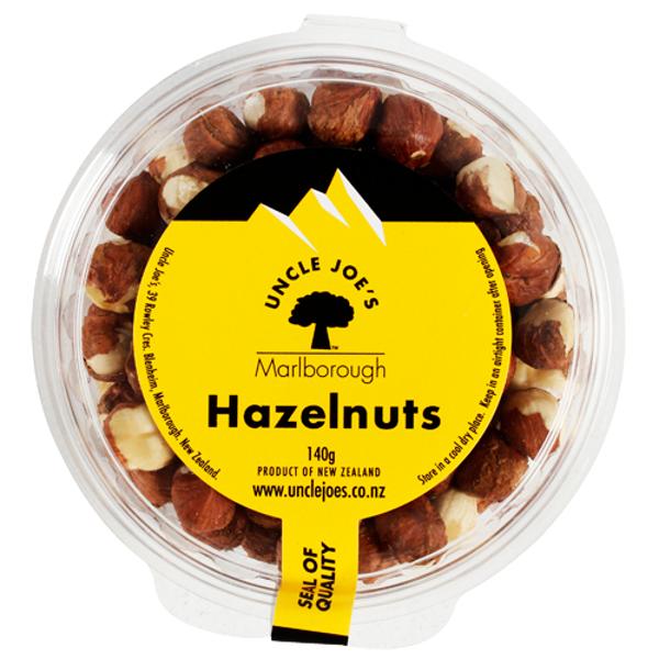 Uncle Joe's Hazelnuts 140g