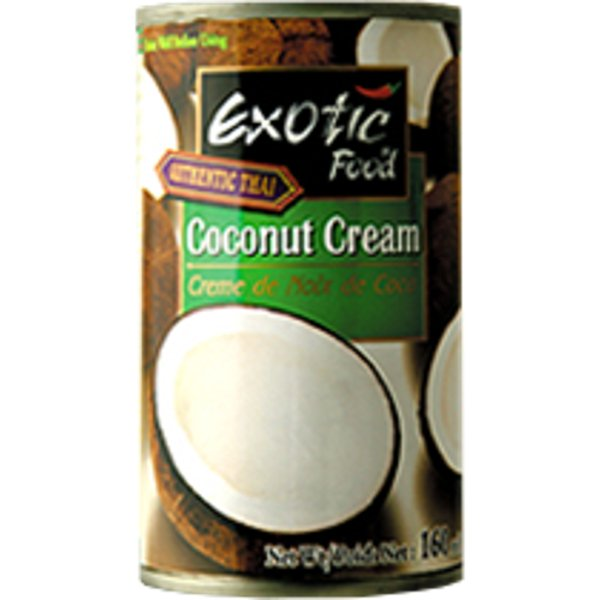 Exotic Food Authentic Thai Coconut Cream 160ml
