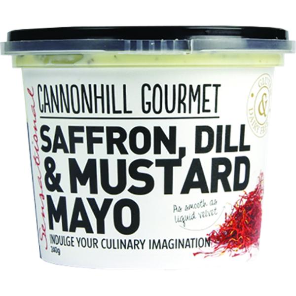 Cannonhill Gourmet Saffron Dill & Mustard Mayo 240g