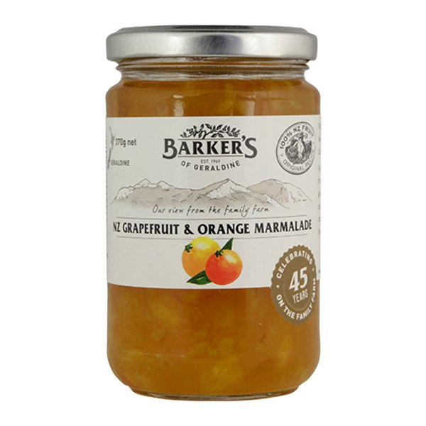 Barker's New Zealand Grapefruit & Orange Marmalade 370g