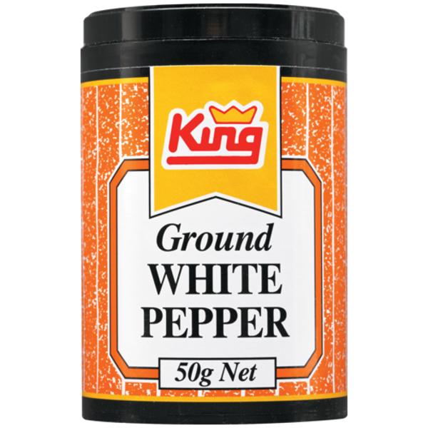 King Ground White Pepper 50g