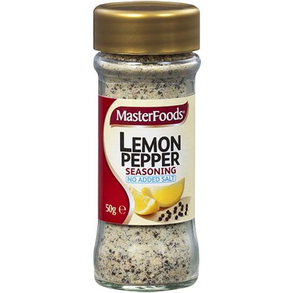 Masterfoods Lemon Pepper Seasoning 50g