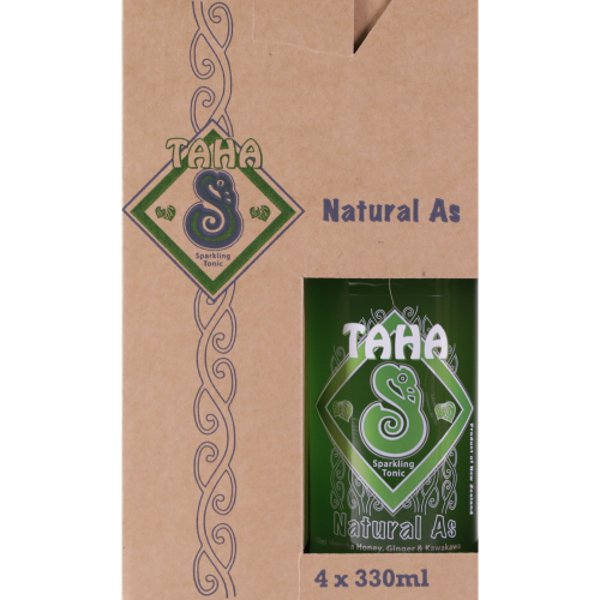 Taha Natural As Sparkling Tonic 4pk