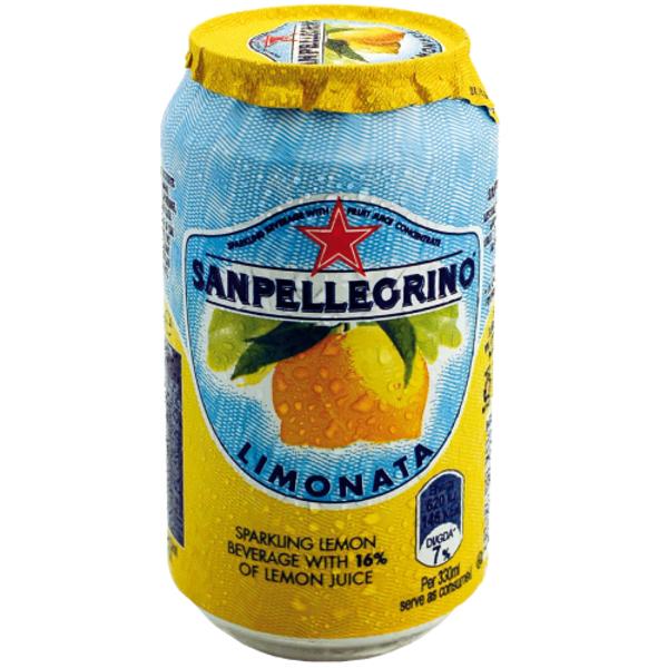 SAN Pellegrino Limonata Sparkling Lemon Drink 330ml